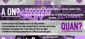 Stage Pretemporada 2019-2020
